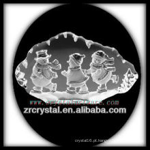 K9 Crystal Intaglio do molde S003