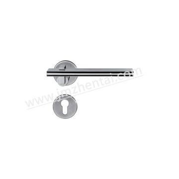 Punho de porta moderno de fundição de aço inoxidável