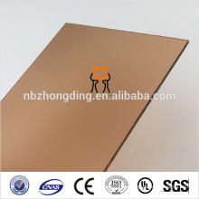 оранжевый матовый лист поликарбоната ПК светодиодные панели матовый