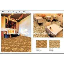 Alfombra de Broadloom Wilton Machine Polipropileno Hotel Carpets