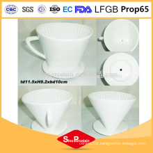 4.5 inch Porcelain ceramic coffee mug ceramic Coffee Filter