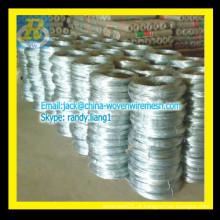 Melhores vendas quente mergulhado galvanizado fio / fio de ferro galvanizado