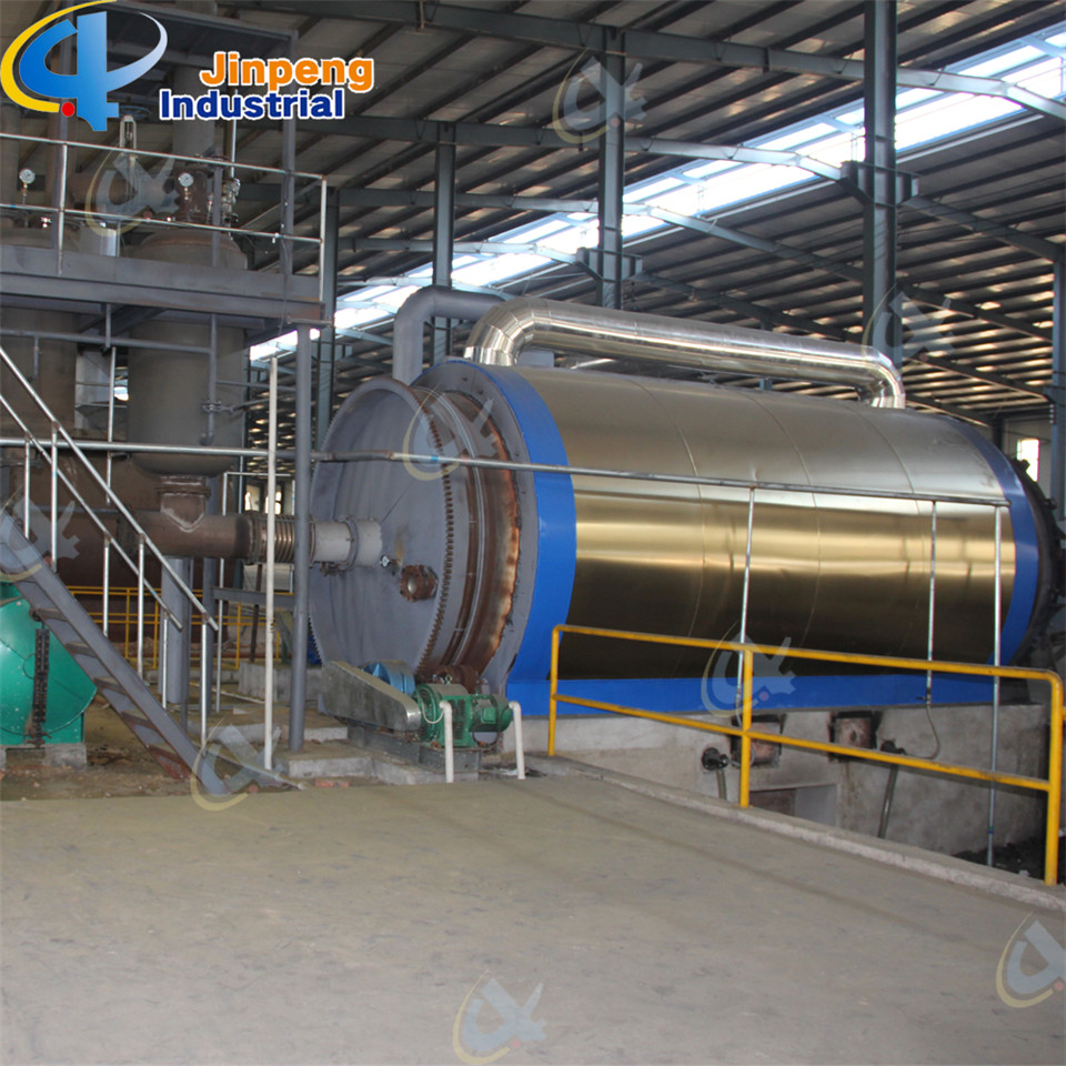 Used Tyre Fuel Oil Pyrolysis Machine Safety Equipment