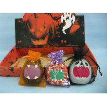 Arts et artisanat en céramique de citrouille d'Halloween (LOE2373B-6)
