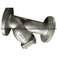 Y-Strainer of Stainless Steel Flange End RF ANSI