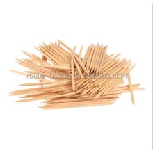 Professional Nail Art Orange Wood Sticks Manicure Wooden