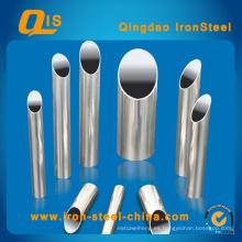 Tubo de acero inoxidable soldado JIS G3459 para tubería de transporte de fluidos