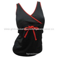 Ladies' Yoga Wear, Comfortable and Soft, Made of Cotton, Spandex Materials