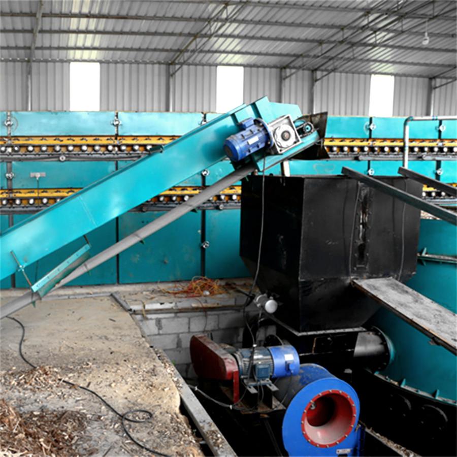 Roller veneer dryer with Biomass Burner