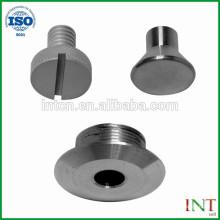 Hecho en China alta calidad estándar cnc torno de piezas de metal