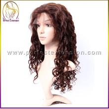 2015 venda quente 100% cabelo brasileiro puro baixo custo perucas