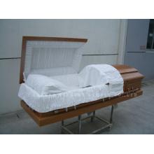 Caixão de madeira de estilo americano Gwf01-04