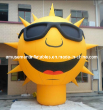 Yellow Sun Man Inflatable Model for Outdoor Advertising (AIC0007)