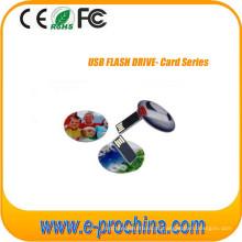 Mini cartão de crédito USB Flash Drive para amostra grátis