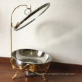 8L Stainless Steel Plated Buffte Food Warmer /Hot Pot Chafing Dish Rose Gold