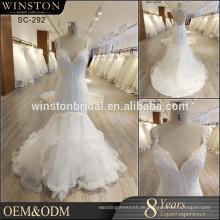 Alibaba Guangzhou Kleider Factory lila Hochzeitskleid