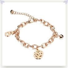 Pulsera de moda de joyería de moda pulsera de acero inoxidable (HR708)