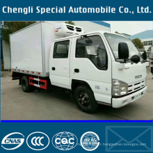 4tons Isuzu camion LHD-réfrigérateur-congélateur