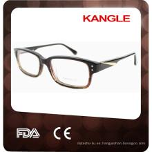 2015 por mayor Alibaba Diseñador metal dec Men Eyeglass Frame