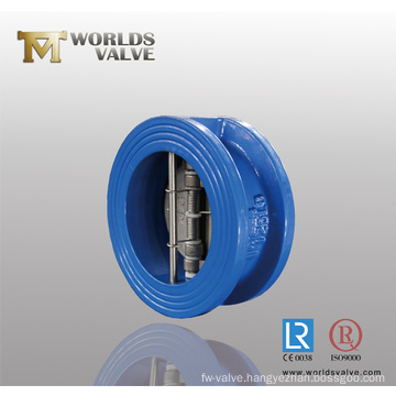 Double Plate Wafer Check Valve