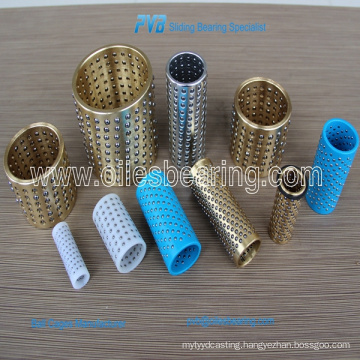 ball bearing guide bush,copper ball retainer, bronze ball bearing cages