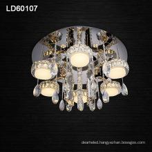 modern lighting chandelier led ceiling crystal lamp