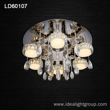 modern lighting chandelier led ceiling crystal lamp