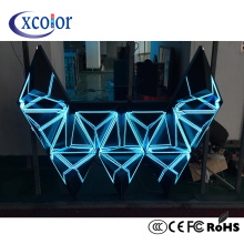 Écran de cube 3D en forme de LED DJ Stage Screen