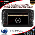 Car DVD Player for Mercedes-Benz Vaneo (2006 Onwards) GPS Navigation