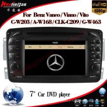 Lecteur DVD de voiture pour Mercedes-Benz Vaneo (2006 en avant) Navigation GPS