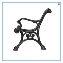 Casting Iron Garden Chair Leg, banco de perna