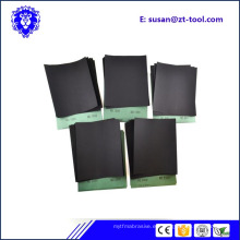 papel de lija / papel abrasivo / hoja de lija para pulir
