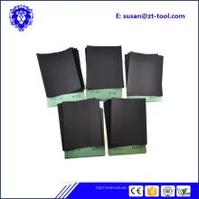 papier sablé / papier abrasif / feuille abrasive pour le polissage