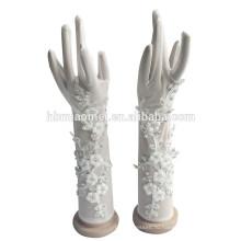 2017 Новая Мода Свадебные Перчатки Цветок Для Девочки