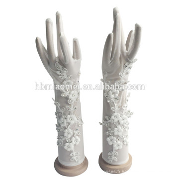 2017 nouveaux gants de mariage de mode pour les filles de fleur