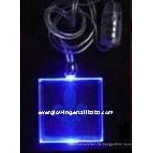 LED beleuchtete Halskette