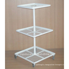 3 Tier Metal Floor Display Rack (PHY394)