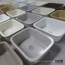 Vielzahl-Oberflächen-Küche-Spülbecken-Modelle von künstlichem Stein Kingkonree