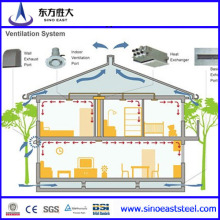 Solar Panel Light Structure Villas (SH-009)
