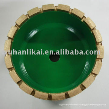 diamond mental bond bruting grinding wheel