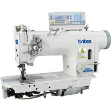 Br-8422D electrónica de alta velocidad doble aguja máquina de coser con transmisión directa