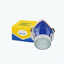 Blei Half Face Safety Approved Gas Atemschutzmaske mit Single Cartridge Respirator HEPA Filter für Chemikalien