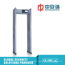 100 Security Levels Outdoor Security Digital Metal Detector with Intelligent Partition