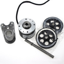 Encodeur rotatif absolu incrémental de roue de 52mm 8mm de série de Yumo Isa5208