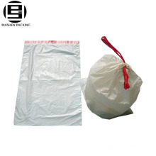 Customized sizes and colors drawstring trash garbage bags