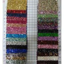Ck-232 3D Chunky Glitter Stoff für Tapete