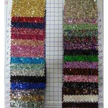 Ck-232 3D Chunky Glitter Fabric for Wallpaper