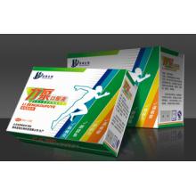 Caja de medicina de papel impreso UV venta caliente