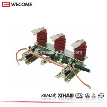 KEMA bescheinigte Mittelspannungsschaltanlage 12KV 630A JN15 elektrischer Erdungsschalter