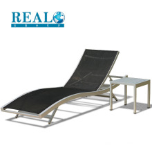Wholesale fashion high quality aluminum folding beach chair outdoor camping lounge chair for swimming pool